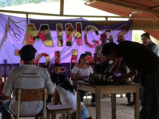 II Escuela Minguera, La Esmeralda Villahermosa Tolima